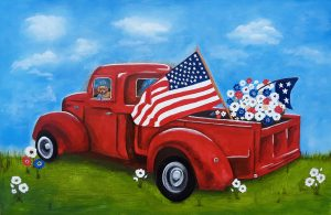 # 128_Ready-for-the-Parade_Acrylic-on-canvas